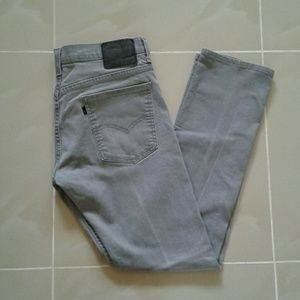 Levi's Gray Jeans